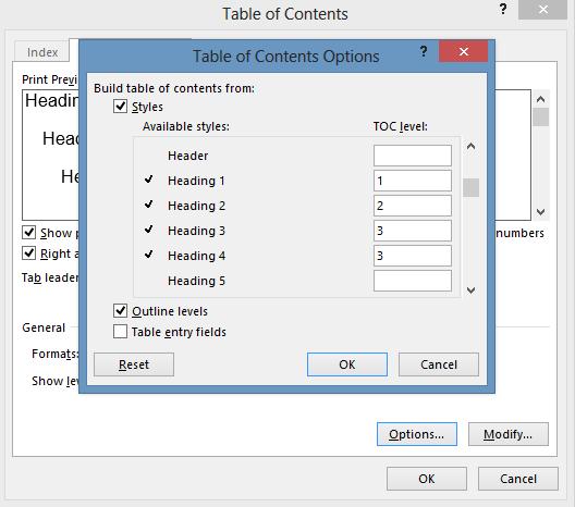 contents edit